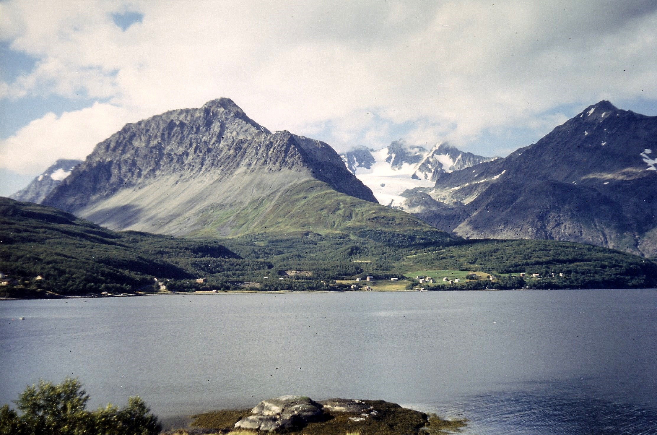 Fjord in Arctic Circle